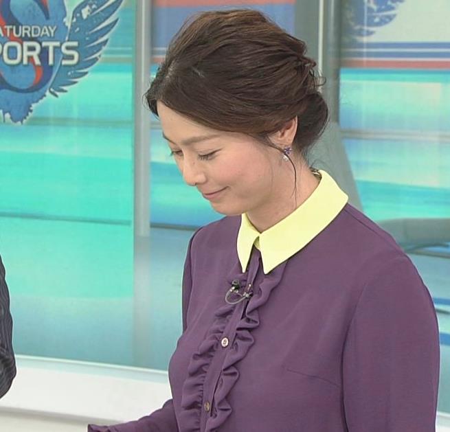 杉浦友紀アナ 清楚系衣装キャプ・エロ画像5