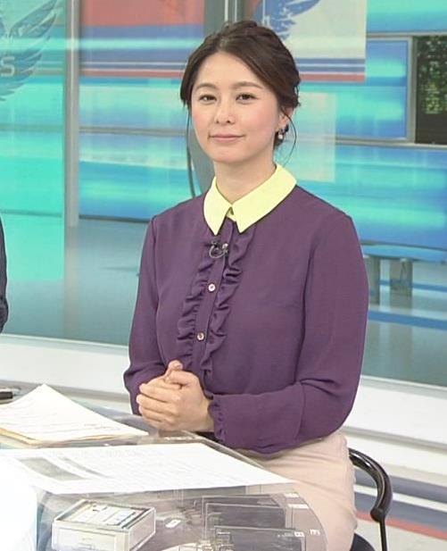 杉浦友紀アナ 清楚系衣装キャプ・エロ画像7