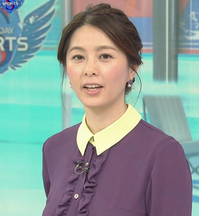 杉浦友紀アナ 清楚系衣装キャプ・エロ画像8