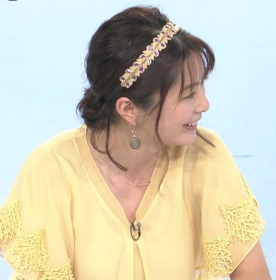 杉浦友紀アナ もうちょっと前にかがんでほしいキャプ・エロ画像3
