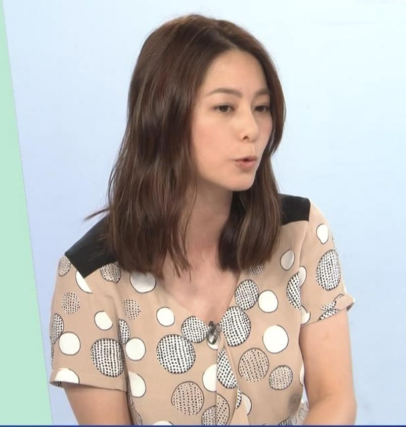 杉浦友紀アナ 胸元ゆるめキャプ・エロ画像6