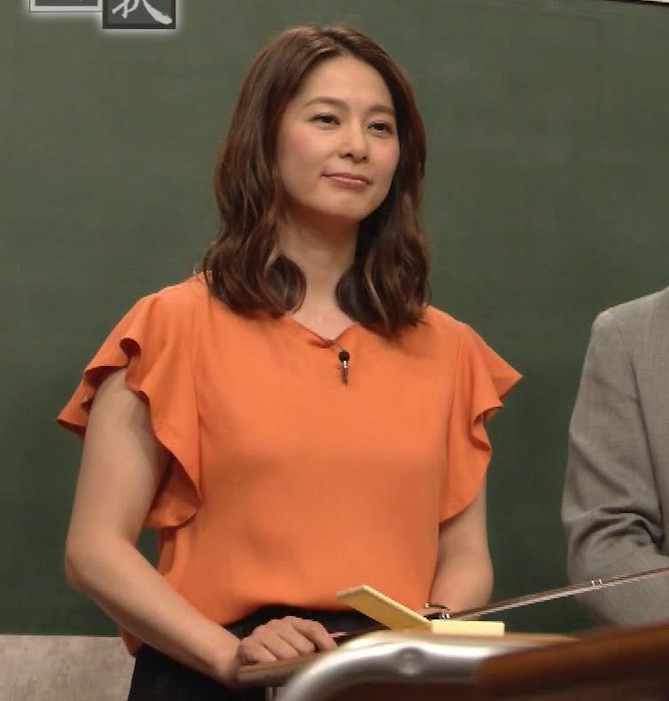 杉浦友紀アナ エロいワキキャプ・エロ画像