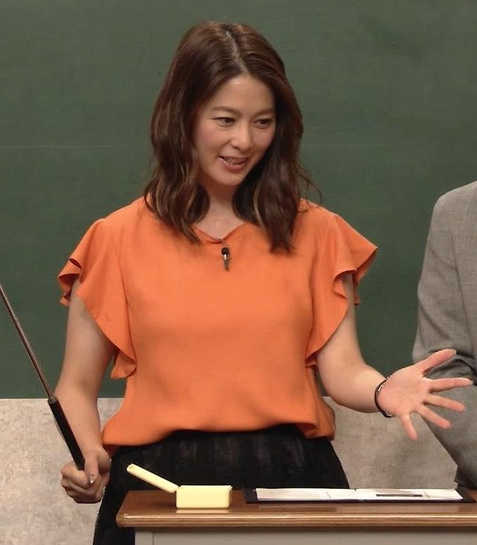 杉浦友紀アナ エロいワキキャプ・エロ画像3