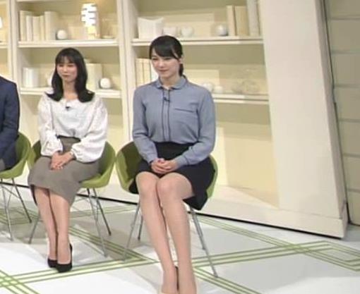 杉山セリナ パンツ見えてるってぐらいの▼ゾーン 「NEWS ZERO」よりキャプ・エロ画像2