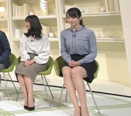 杉山セリナ パンツ見えてるってぐらいの▼ゾーン 「NEWS ZERO」よりキャプ・エロ画像3