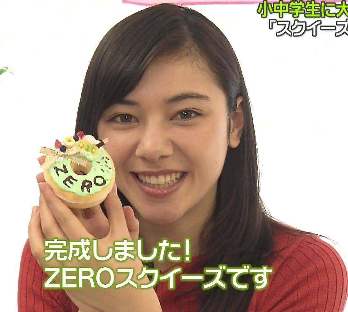 杉崎セリナ ぴったりニットおっぱいキャプ・エロ画像7
