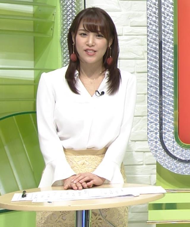 鷲見玲奈アナ 「SPORTSウォッチャー」 キャプ・エロ画像4