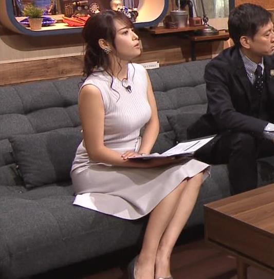 鷲見玲奈アナ エロいカラダを強調キャプ・エロ画像5