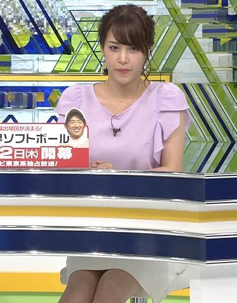 鷲見玲奈アナ ふくらはぎキャプ・エロ画像5