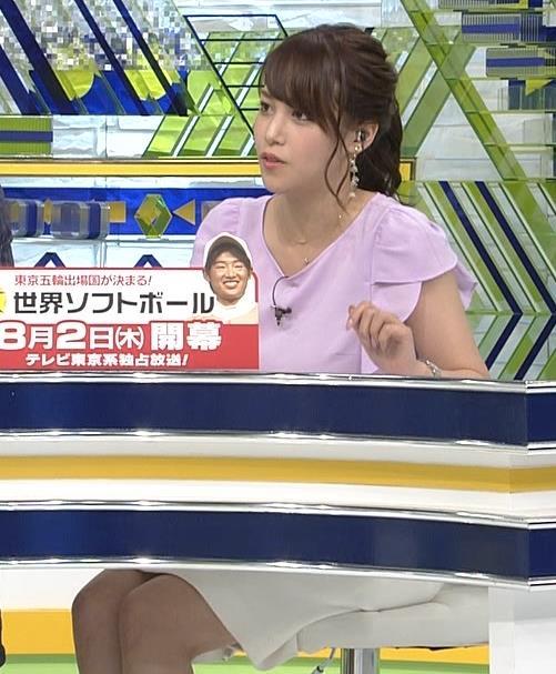 鷲見玲奈アナ ふくらはぎキャプ・エロ画像7