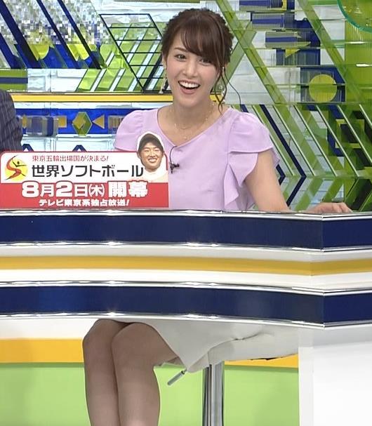 鷲見玲奈アナ ふくらはぎキャプ・エロ画像8