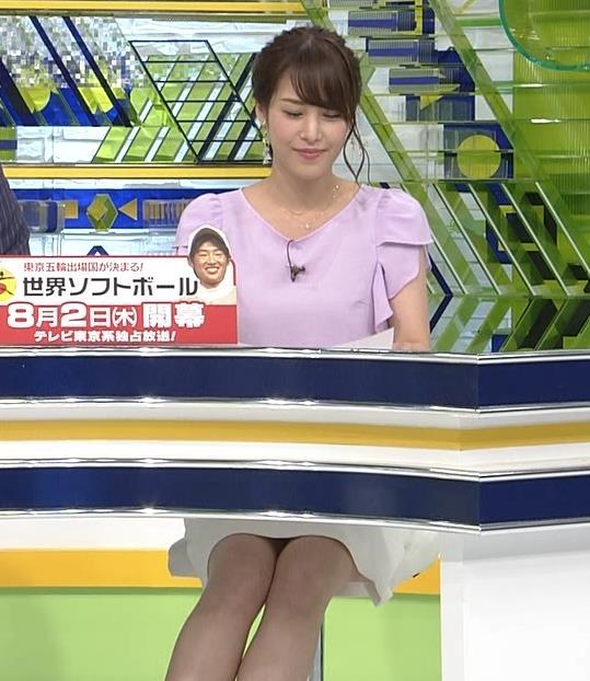 鷲見玲奈アナ ふくらはぎキャプ・エロ画像10