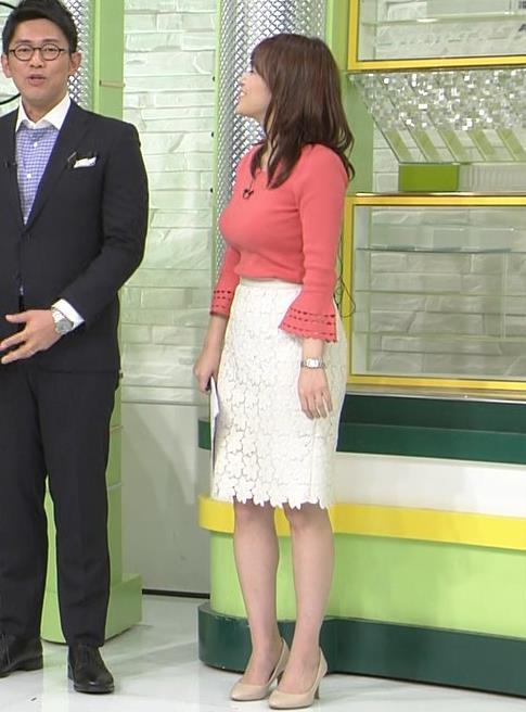 鷲見玲奈アナ やっぱりすげぇデカ乳キャプ・エロ画像13