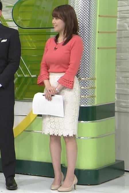 鷲見玲奈アナ やっぱりすげぇデカ乳キャプ・エロ画像8