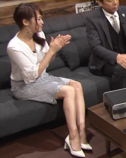 鷲見玲奈アナ スカートお尻キャプ・エロ画像13