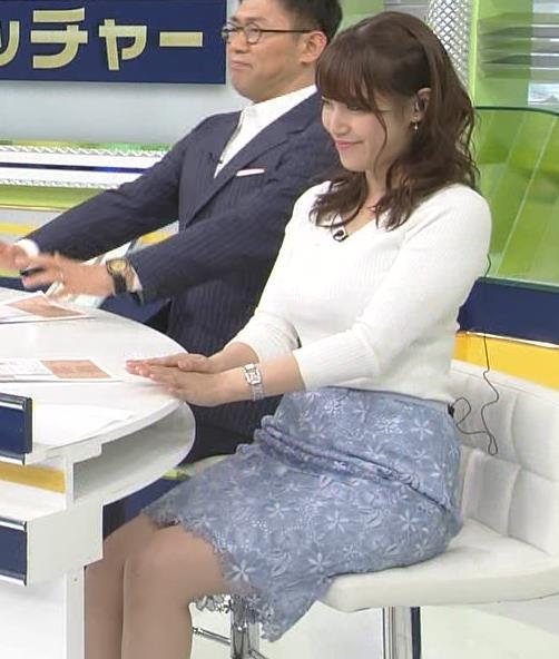 アナ 脚ばっかり見てしまうスポーツ番組キャプ・エロ画像3