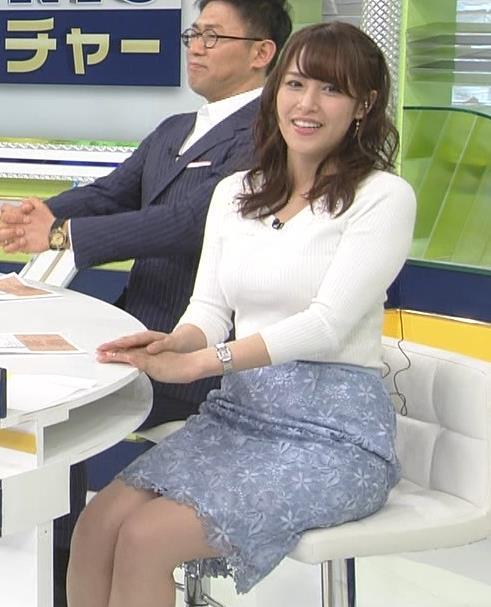 アナ 脚ばっかり見てしまうスポーツ番組キャプ・エロ画像4