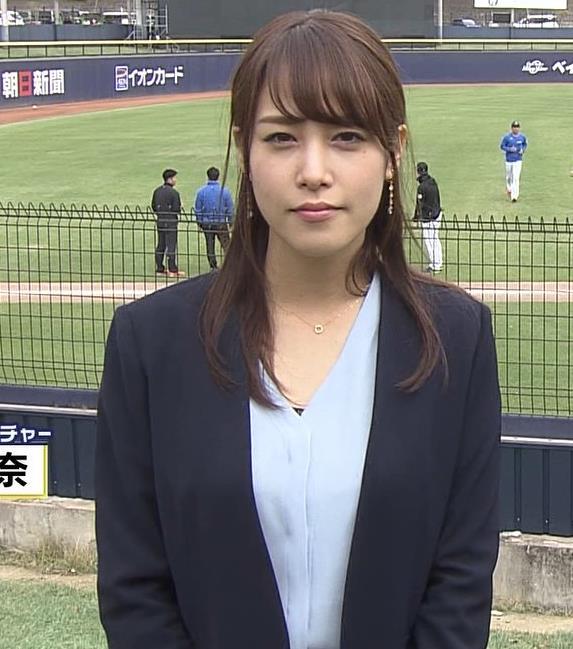 アナ 脚ばっかり見てしまうスポーツ番組キャプ・エロ画像6