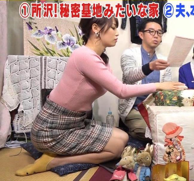 アナ ミニスカートで畳に座ってエロいキャプ・エロ画像