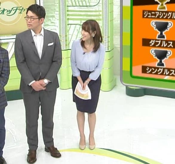 鷲見玲奈アナ 生足エッロ…キャプ・エロ画像5