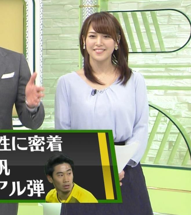 鷲見玲奈アナ 生足エッロ…キャプ・エロ画像6