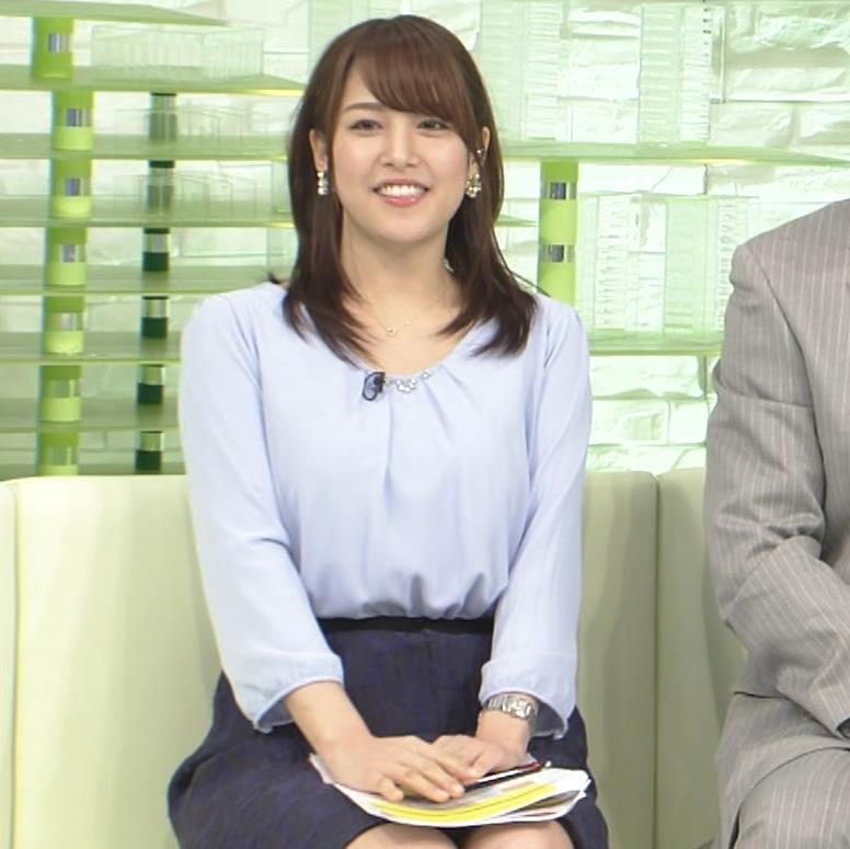 鷲見玲奈アナ 生足エッロ…キャプ・エロ画像10