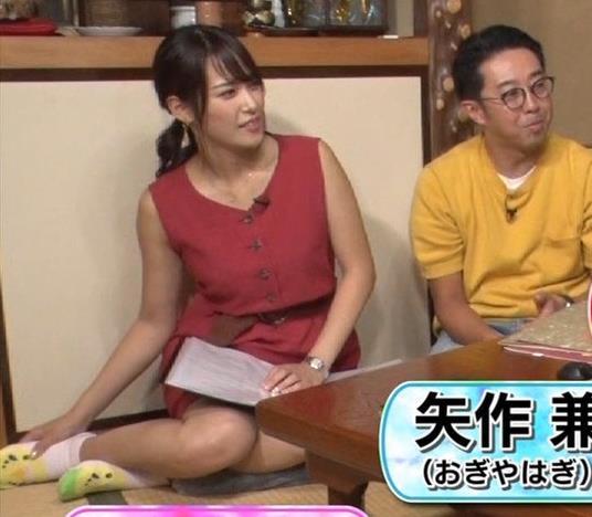 アナ ミニスカートで女の子座り▼ゾーンキャプ・エロ画像5