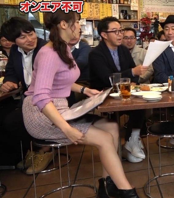 鷲見玲奈アナ 最大級のエロ回キャプ・エロ画像11