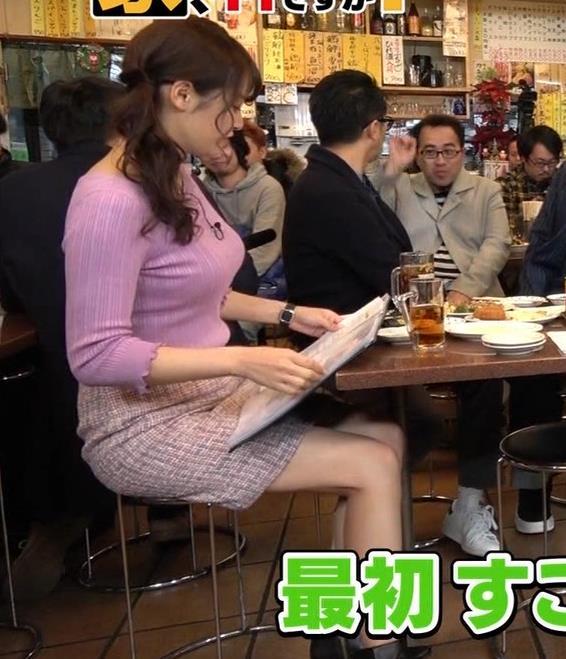 鷲見玲奈アナ 最大級のエロ回キャプ・エロ画像12