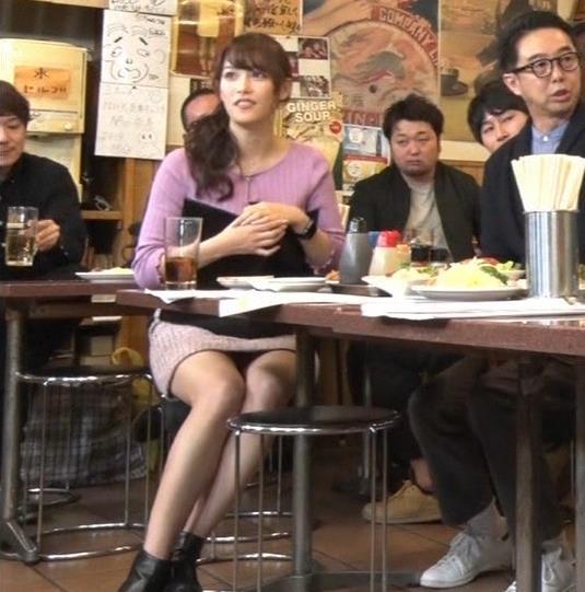 鷲見玲奈アナ 最大級のエロ回キャプ・エロ画像3