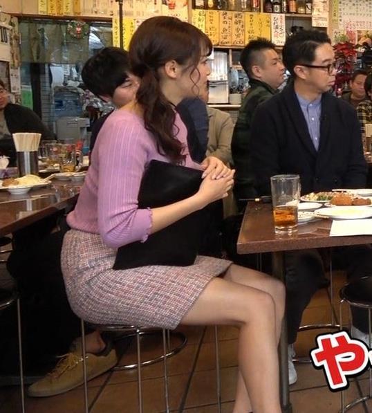 鷲見玲奈アナ 最大級のエロ回キャプ・エロ画像4