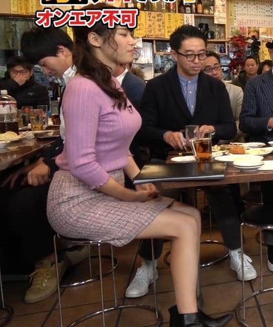 鷲見玲奈アナ 最大級のエロ回キャプ・エロ画像5