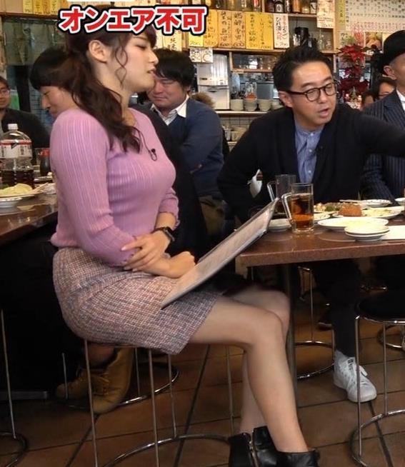 鷲見玲奈アナ 最大級のエロ回キャプ・エロ画像6