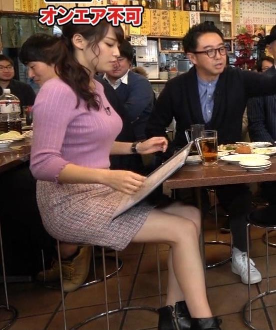 鷲見玲奈アナ 最大級のエロ回キャプ・エロ画像7