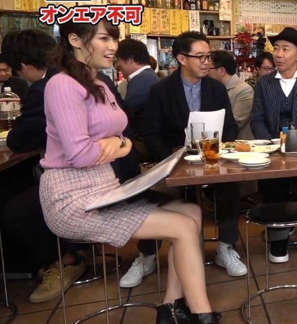 鷲見玲奈アナ 最大級のエロ回キャプ・エロ画像9