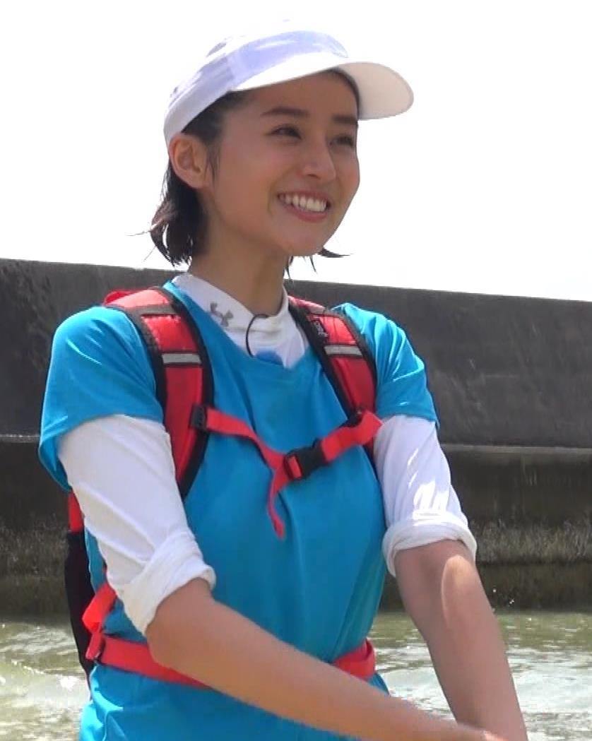 鈴木ちなみ 乳が揺れ揺れのランニング番組(GIFあり)キャプ・エロ画像5