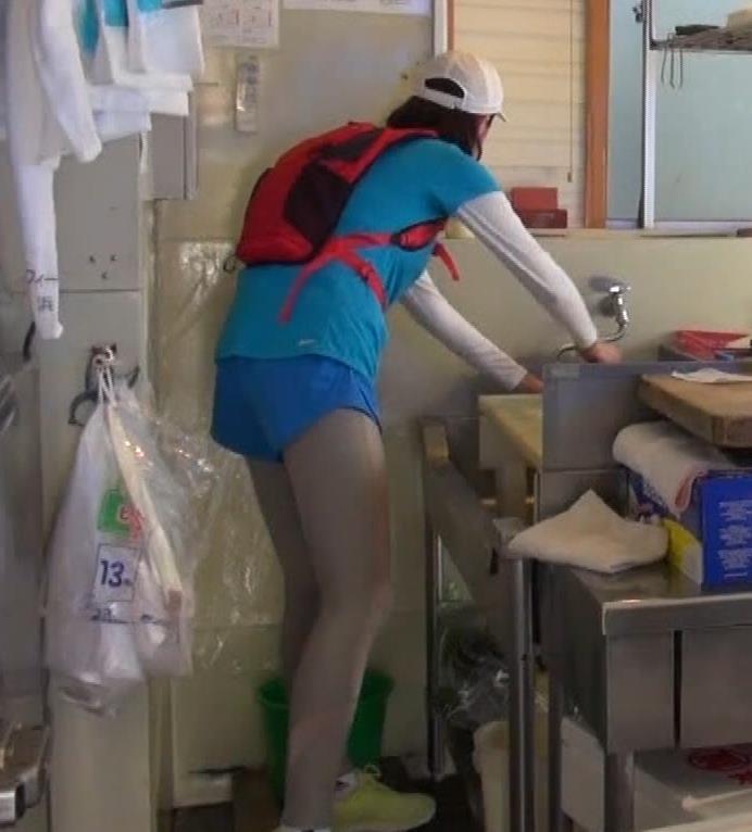 鈴木ちなみ 乳が揺れ揺れのランニング番組(GIFあり)キャプ・エロ画像10