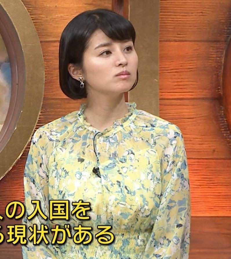 鈴木ちなみ 巨乳がわかるワンピースキャプ・エロ画像9