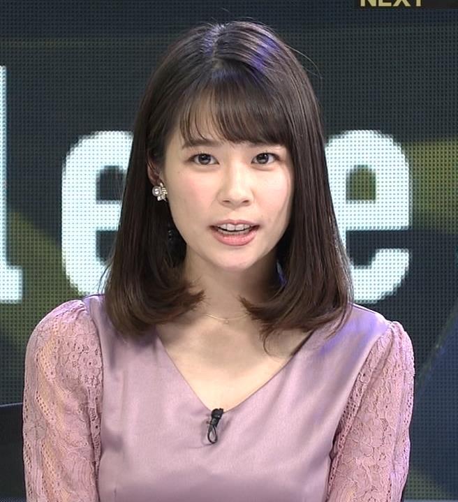 鈴木唯アナ おっぱいがエロい衣装キャプ・エロ画像9
