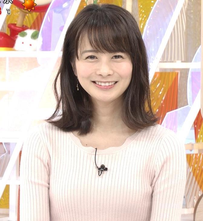 高見侑里 ニット横乳♡キャプ・エロ画像