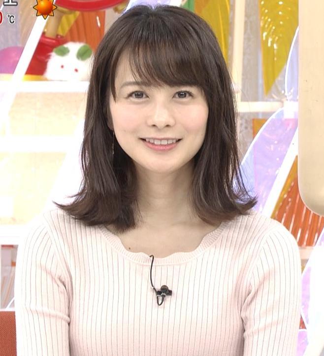 高見侑里 ニット横乳♡キャプ・エロ画像4