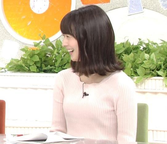 高見侑里 ニット横乳♡キャプ・エロ画像5