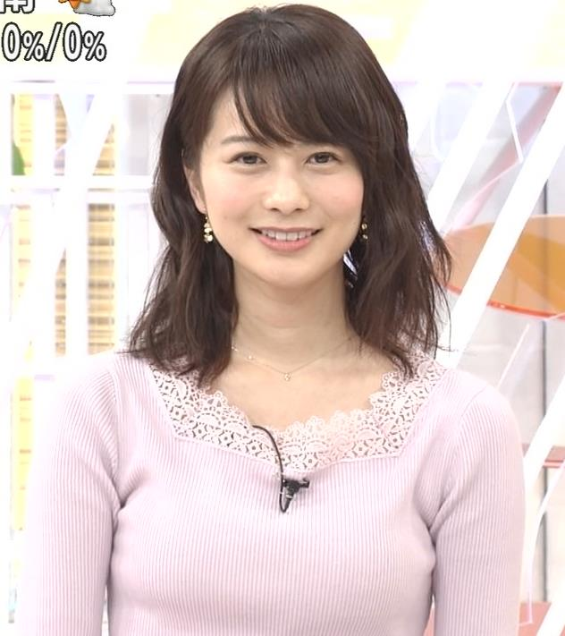 高見侑里 ニット乳キャプ・エロ画像5