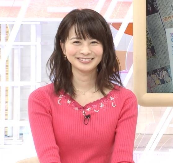 高見侑里 ピンクのニットおっぱい♡キャプ・エロ画像5