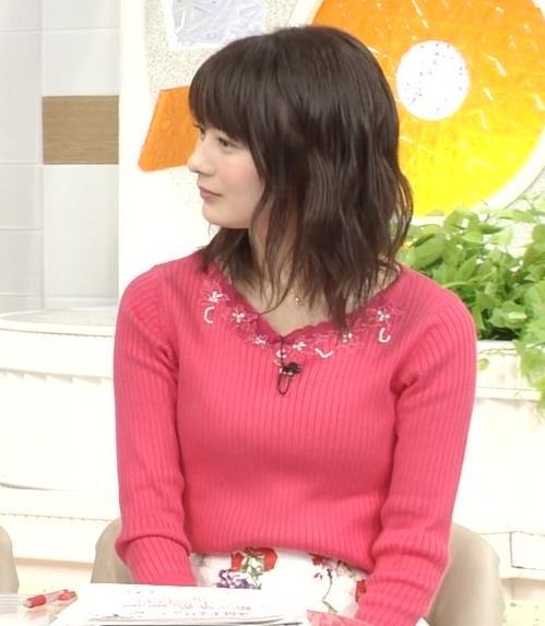高見侑里 ピンクのニットおっぱい♡キャプ・エロ画像7