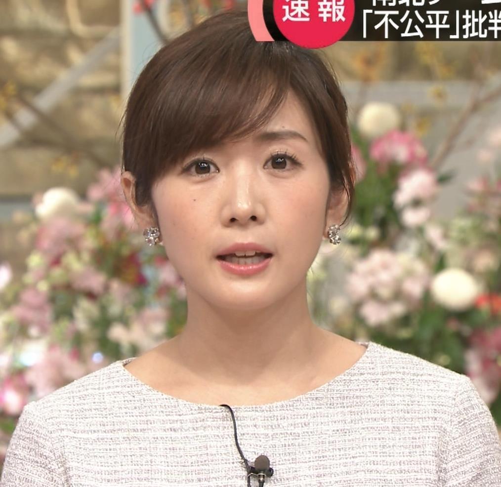 高島彩アナ ミニスカ脚(サタデーステーション)キャプ・エロ画像2