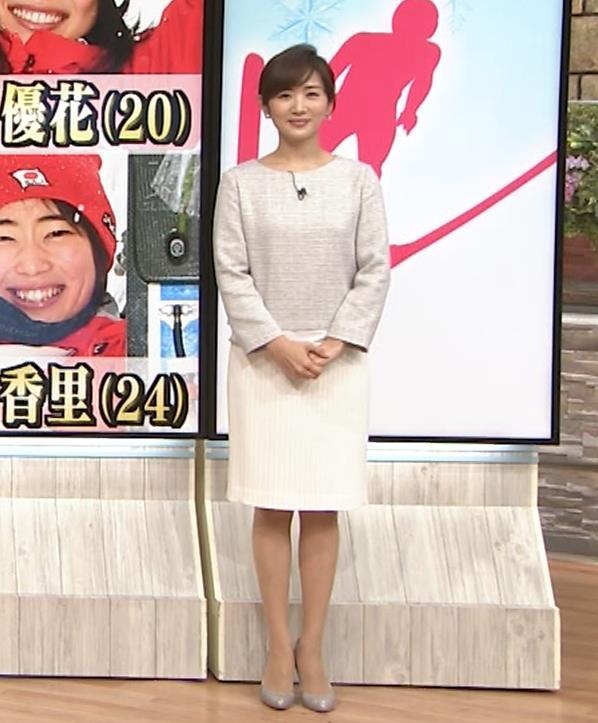 高島彩アナ ミニスカ脚(サタデーステーション)キャプ・エロ画像11
