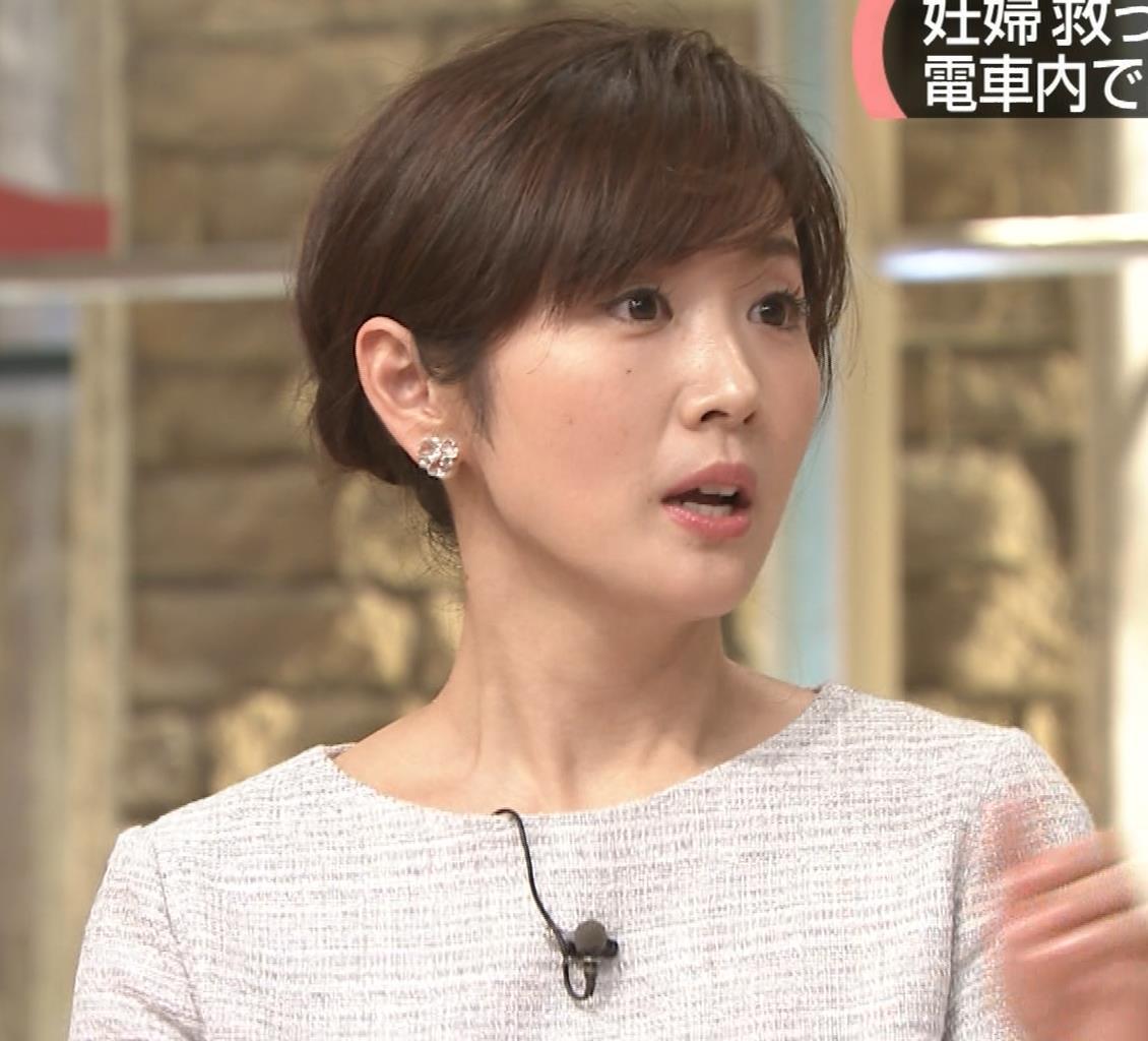 高島彩アナ ミニスカ脚(サタデーステーション)キャプ・エロ画像4