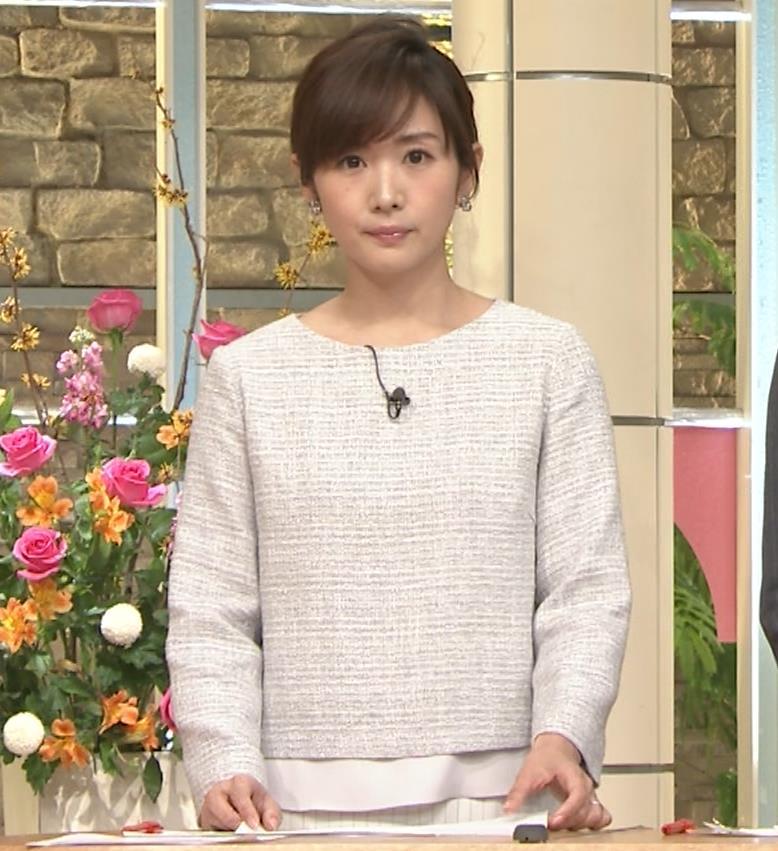 高島彩アナ ミニスカ脚(サタデーステーション)キャプ・エロ画像9