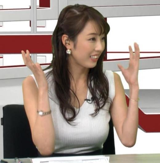 竹内紫麻 巨乳のフリーアナキャプ画像(エロ・アイコラ画像)